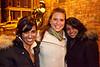 Snati Patel, Jessica R. Stark, and Tru Patel arrive in style and O'Shea's.