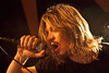 "Kansas City-based Puddle of Mudd unleashed their classic grunge-rock sounds on a full house at Phoenix Hill Tavern at the annual Thanksgiving event ""Gobblestock."""