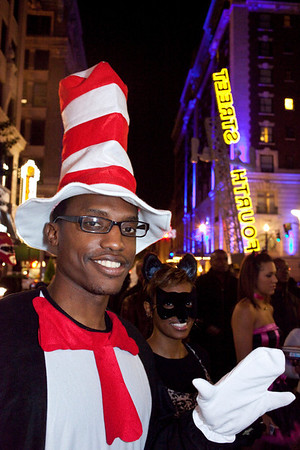 Scenes from the Fourth Street Live Halloween Party and Costume Contest.