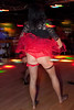 Honkytonk Burlesque contestants vied for cash prizes at Electric Cowboy by performing sultry moves and riling the audience.