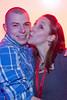 Amy Monroe steals a kiss form Chris King.