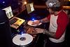 DJ Jason Smith does his thing.