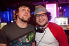 DJ Jason Smith (right) was the featured guest at Hotel on Friday night.
