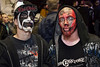 2Sick and Jordan Cunningham were at home in a sea of painted faces.