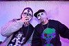 Grim Smith and Penguin Hilton catch a smoke and contemplate great Juggalo nicknames.