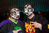 """Sean """"the Mad Juggalo"""" Deaks and Marcus """"DJ Skitzo"""" Payne remembered to style their hair."""