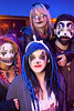 Jessica Metzler, Trish Cole, Kendall Ox, and Vince Eicher were made up and ready for Insane Clown Posse at Expo Five on Friday night.