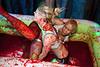 The third fight was a rowdy affair between Nikki Gore and Jordan Brewer.