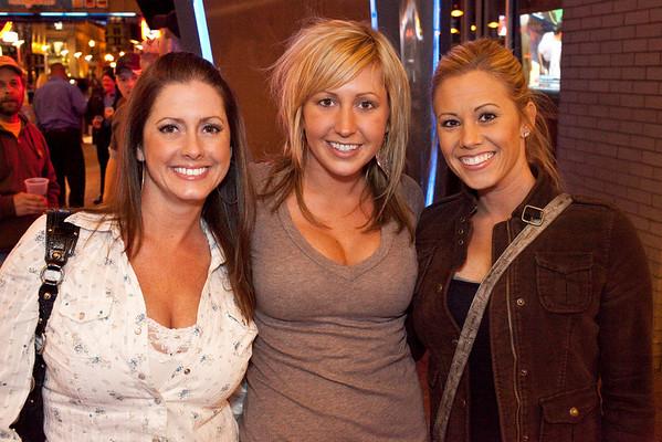 Lindsey Queener, Michelle Blevins, and Katrina Grashan were a triple threat.