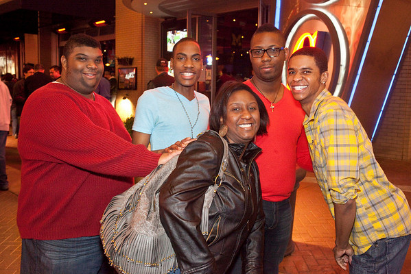 Marcus Ford, Brandon Leaks, Philipe Max, Meeho Thomas and Dominique Bean brought the good times.