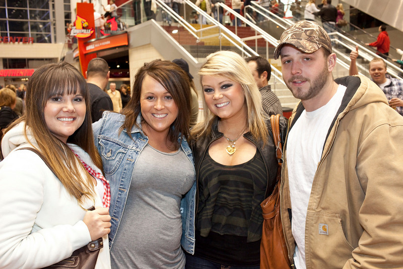 Rachel Biddle, Ashley Clements, Chels Straehan, and Kyle Nettor were on the scene.