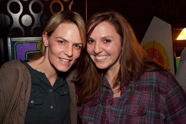 Kristen Combs and Katie Yandrick-Mansberry were ready for the show.