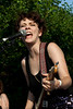 Those Darlins rocked the crowd as headliners at the Lebowski Fest Garden Party.