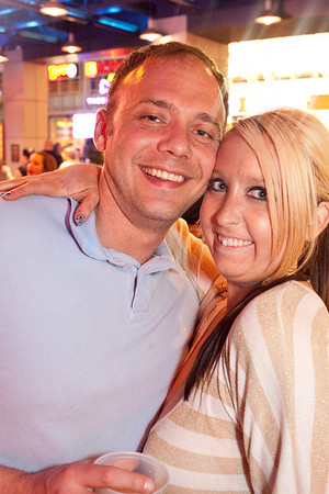 Cousins Phil Bohn and Sarah Branch keep up the family tradition of good times.
