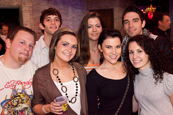 Eric Ashcraft, Virginia Boone, Morgan Frierson, Emily Kidd, Randi Loggins, Tyler Mier, and Patrick Bueno were a force to party with.