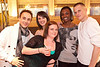 R. Mganceow (from Norway) Cindy Owens, Sabrina Hutchison, Tamyra Thomas, and Brad Lee Miller were having a good time.