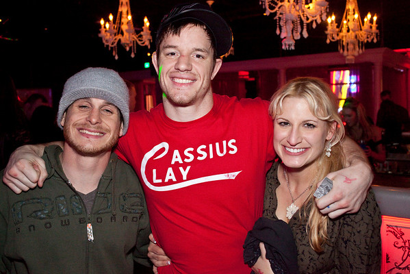 Nick Acardo, CB Dollaway, and Jenny Markiewicz like to be in the middle of the crowd.