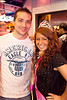 Abbie Coomes celebrates her birthday with Adam Clem.