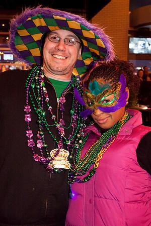 Robert Gist and Joy Eastmond came for the good times.