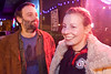 Good times on the stoop at Monkey Wrench as the Derby City Roller Girls after party continued.