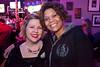 DCRG's Alysen Davis and Jimi Hit-Trix Martin get close.