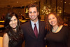 Marisa Knopman, Alex Campbell, and Julia Murcia came to party.