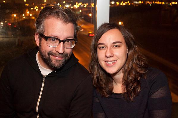 Seth Werkheiser and Brittanie Cannon were with the band.
