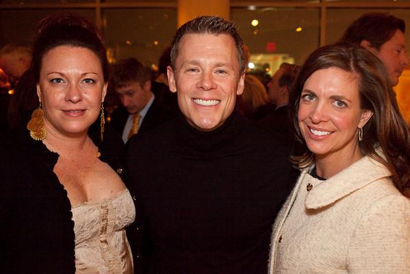 Kimberly Shomer, Robert Schneider, and Kathryn Ross were a trio of good times.