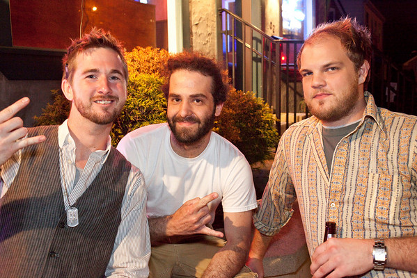 Brandon Shugerman, Garrett Ball, and music promoter Hunter Embry were on the scene at Zazoo's for another installment of The New Vintage Showcase. The all night lineup included Bloom Street and Dirty Church Revival.