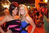 Colleen Schauman and Rachel Woolley made the St. Matthew's bar district their party destination on Saturday night.