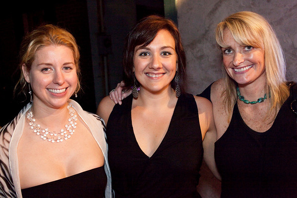Emma Lister, Kate Hendon, and Louise Kokinda were ready for some live music at Zazoo's.