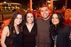Silvia Mendez, Rebecca Lemes, Pablo Lemes, and Blanca Cabanas celebrate Pablo's birthday in style.