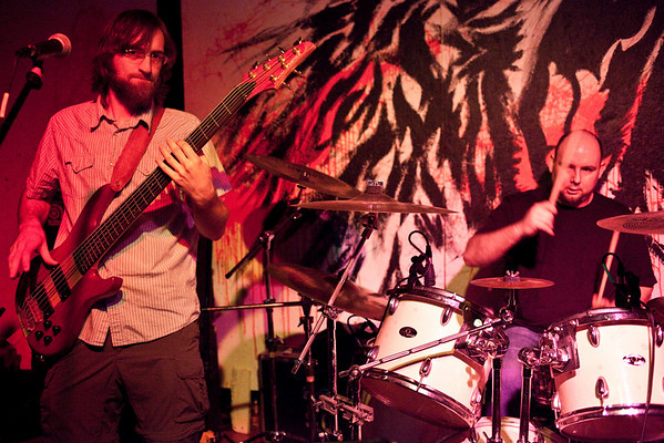 The band Bloom Street was one of four bands featured during The New Vintage Showcase at Zazoo's on Saturday night.
