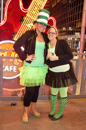 Ali Pupp and Nicole Hommrich were dressed for the occasion.