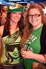 Kat Bielefeld and Tiffany Clark were rocking the Irish style.