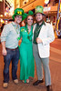 Pat Ridge, Sarah Samples, and Neil Lucas like to look the part on St. Patrick's Day.
