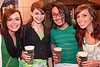 Hannah Wohlenhaus, Sarah Smith, Brian Seang, and Bethany Jacobs keep the beverages in hand.