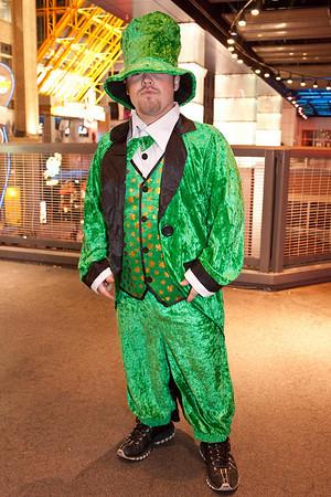 Jamie Evans plays the leprechaun.