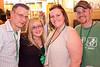Aron Brock, Jessica Brock, Renee Baker, and Jim Baker party into the night.