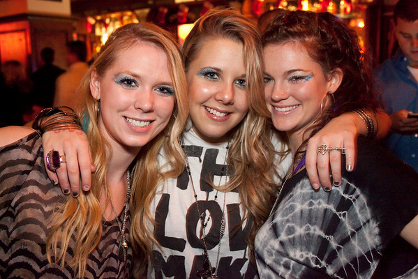 Jessica Walker, Amanda Wilson, and Karen Amundson were part of the packed house at Sully's on Saturday night.