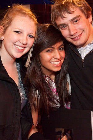 Jasmine Smith turns twenty-one and finds herself flanked by pals Kennedy Prather and Matt Franklin.