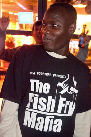 It ain't a party until the Fish Fry Mafia arrives.