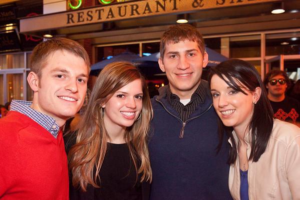 Logan Wilson, Megan Benkert, Kyle Von Handorf, and Christina Wemer keep it light and breezy.