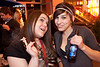 Ashley Boyer and Olivia Boose enjoy a smoke and a smile.