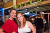 Jackie Reitenbach and Stephanie Berger take in the Sully's experience.