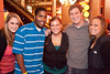 Liz Carl, Dwayne Curry, Morgan Barnes, Nate Stahl, and Amber Hardin came for the action at Sully's.