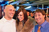 Beau Boyd, Kara Sabin, and Daniel Witt were ready to party (some more.)