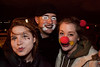 Melanie Knight, Michael Ryan Bretz, and Rae Ivie of Nashville did some clowning around.