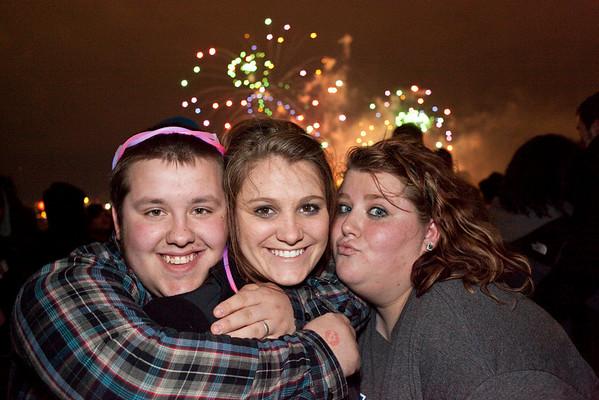 Kyle Hawkins, Stephanie Graves, and Kayla Hawkins bring the love.