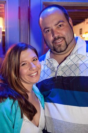 Stephanie Chesser and Jason Fugate were all smiles.